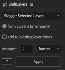 Shiftlayers timeslice plugin