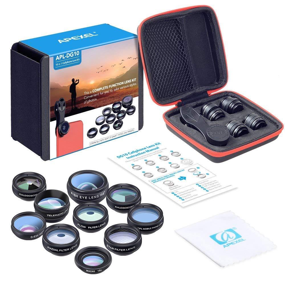 Cheap mobile phone lens kit.