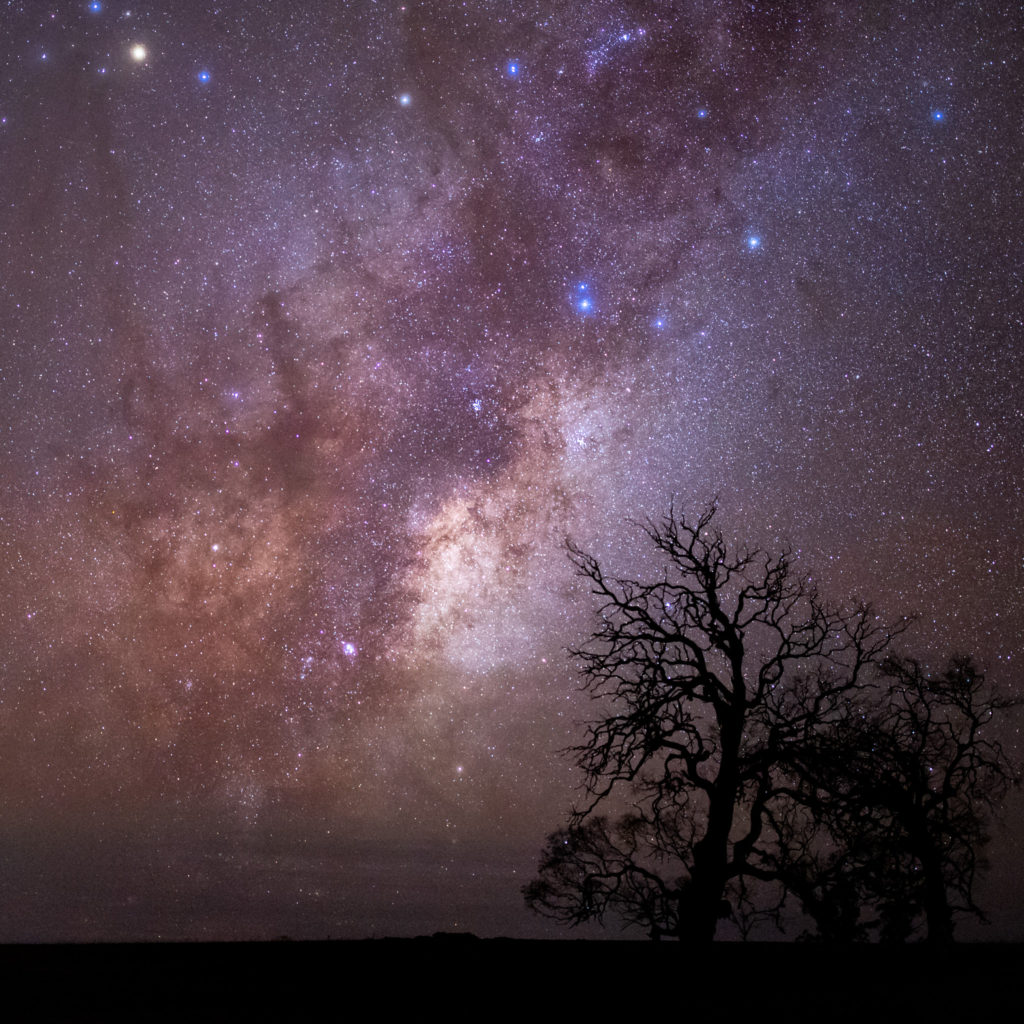 The galactic core of our milky way
