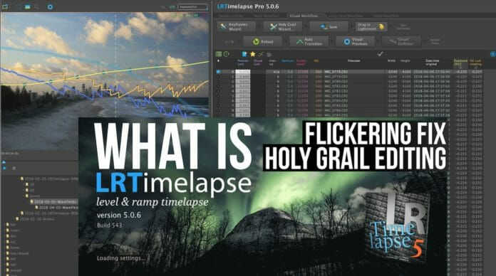 LRTimelapse timelapse software explained