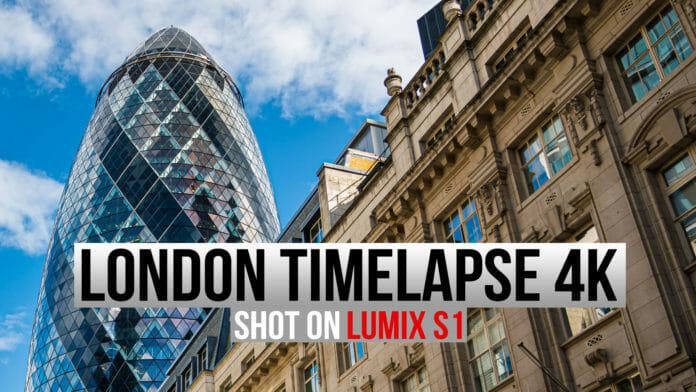 Lumix S1 timelapse