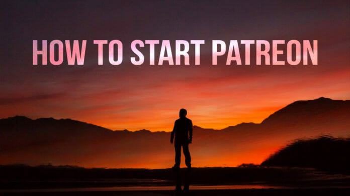 How to start patreon article cover photo