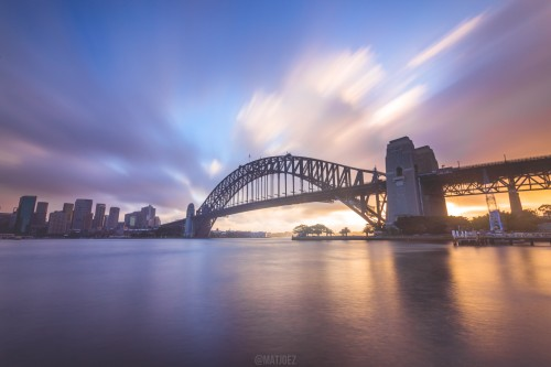 Kirribilli sunset shoot